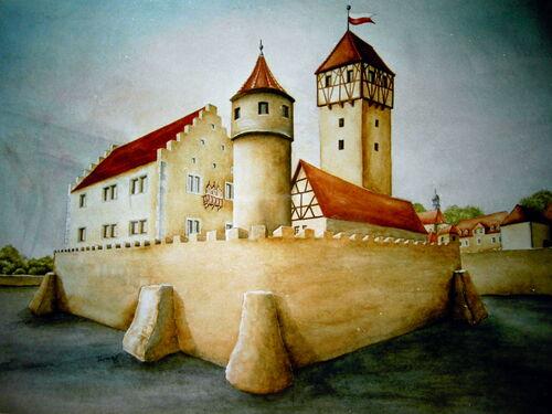 Schlossruine Rekonst