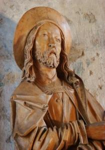 Riemenschneider St. Jakobus Detail